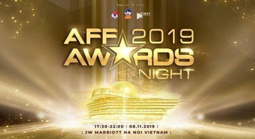 AFF Awards 2019 được tổ chức tại Việt Nam