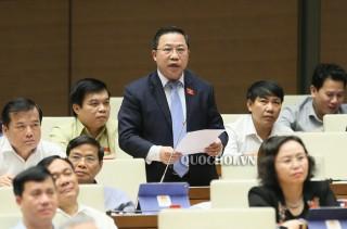 Đại biểu Lưu Bình Nhưỡng góp ý thảo luận về công tác phòng, chống tội phạm, tham nhũng