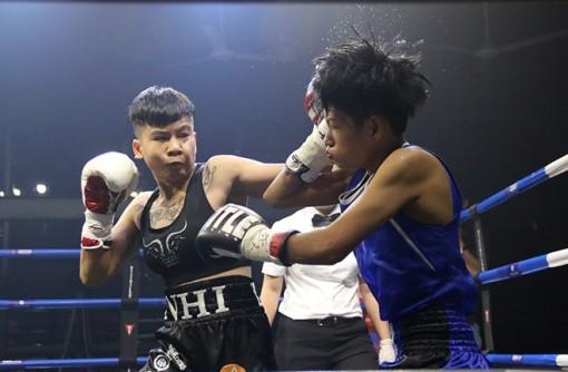 Nguyễn Trần Thu Nhi chỉ mất 16 giây hạ knock-out đối thủ người Thái Lan