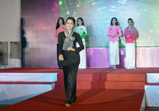 30 thí sinh hoàn thành phần thi ảnh Cuộc thi Người đẹp xứ Dừa 2019