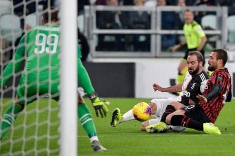Vòng 12 Serie A:  Juventus thắng nhọc nhằn Milan