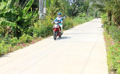 Phú Hưng nâng chất các tiêu chí xã nông thôn mới