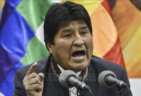 Bolivia: Nhà lãnh đạo Evo Morales gửi thông điệp đầu tiên sau khi từ chức
