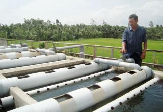 Đảm bảo nguồn nước phục vụ cho sản xuất và sinh hoạt