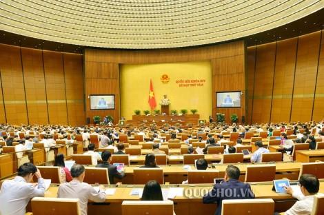 Thông cáo số 21 Kỳ họp thứ 8, Quốc hội khóa XIV