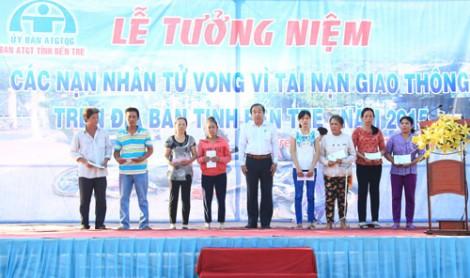 Tổ chức lễ cầu siêu các nạn nhân tử vong do tai nạn giao thông