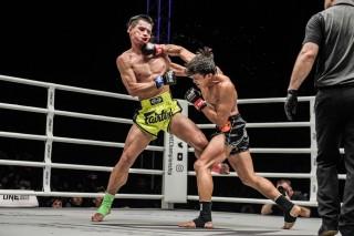 Nguyễn Trần Duy Nhất thi đấu tại sự kiện ONE
