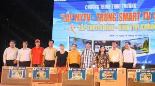 "VNPT Bến Tre  trao thưởng  ""Lắp MyTV - Trúng Smart TV 4k"""