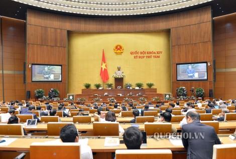 Quốc hội thảo luận dự án Luật sửa đổi, bổ sung một số điều của Luật Phòng, chống thiên tai và Luật Đê điều