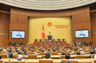 Thông cáo số 28 Kỳ họp thứ 8, Quốc hội khóa XIV