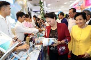 Chủ tịch Quốc hội dự khai mạc Hội chợ Du lịch Quốc tế Cần Thơ 2019