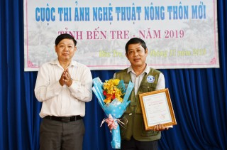 Trao giải Cuộc thi và triển lãm ảnh nghệ thuật nông thôn mới năm 2019