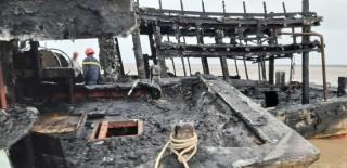 Cảnh giác với tai nạn cháy tàu đánh cá