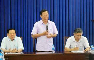 Họp báo cáo tiến độ xây dựng Tầm nhìn chiến lược phát triển tỉnh Bến Tre giai đoạn 4