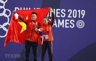 Kết quả SEA Games 30 ngày 1-12-2019: Ngày thi đấu thành công của Cử tạ, Dancesport và Võ gậy