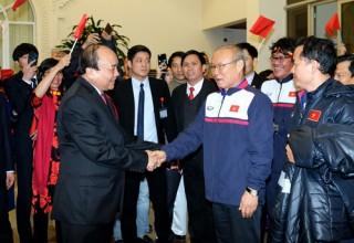 Thủ tướng Nguyễn Xuân Phúc gửi thư chúc mừng thành công của HLV Park Hang seo và U22 Việt Nam