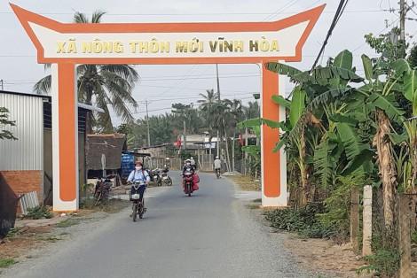 Vĩnh Hòa về đích xã nông thôn mới