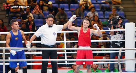 Nguyễn Văn Đương dính 2 vết cắt vẫn thắng đối thủ