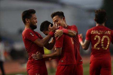 Tự đẩy mình vào thế khó, U22 Indonesia vẫn lọt vào chung kết SEA Games 30