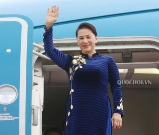 Chủ tịch Quốc hội lên đường thăm chính thức Nga và Belarus