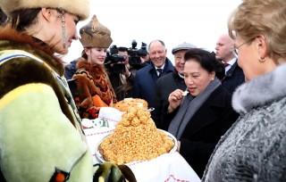 Chủ tịch Quốc hội Nguyễn Thị Kim Ngân bắt đầu thăm chính thức LB Nga