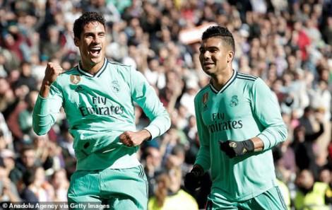 Vòng 15 La Liga: Real Madrid áp đảo Espanyol 2-0