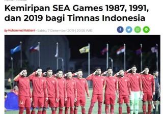 """Báo chí Indonesia chê U22 Việt Nam """"vua về nhì"""""""