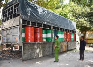 Vận chuyển chất thải nguy hại không có giấy phép xử lý