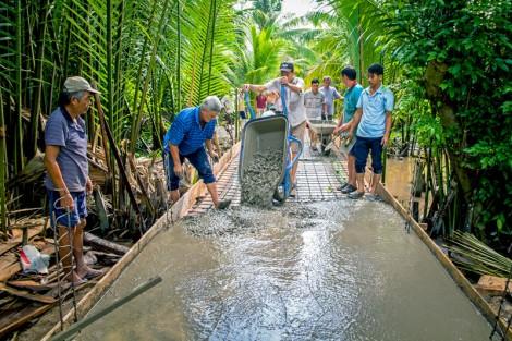 Nỗ lực xây dựng giao thông nông thôn