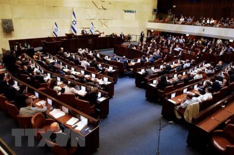 Quốc hội Israel thông qua dự luật mở đường cho bầu cử
