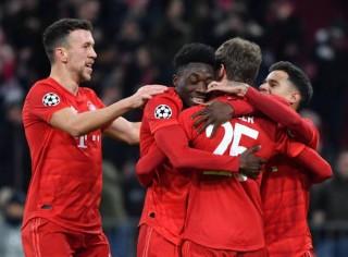 Champions League:  Bayern hạ gục Tottenham 3-1