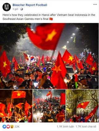 Truyền thông thế giới ấn tượng với chiến tích của U22 Việt Nam
