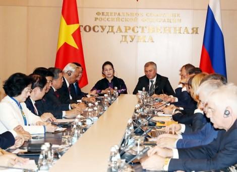Kết quả Phiên họp thứ nhất Ủy ban hợp tác Liên nghị viện Việt - Nga