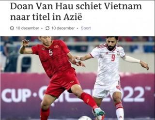 Đoàn Văn Hậu đã được truyền thông và CĐV Hà Lan công nhận tài năng