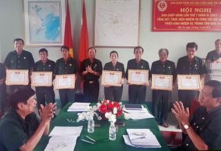 Hội Cựu chiến bình tỉnh tổng kết hoạt động năm 2019