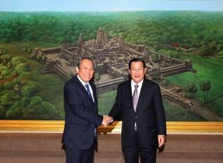 Phó thủ tướng Thường trực hội kiến Thủ tướng, Quyền Chủ tịch Quốc hội Campuchia