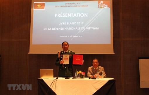 Công bố Sách Trắng Quốc phòng Việt Nam tại Algeria