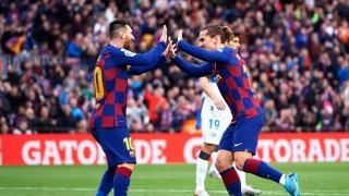 Barcelona vô địch lượt đi La Liga 2019 - 2020