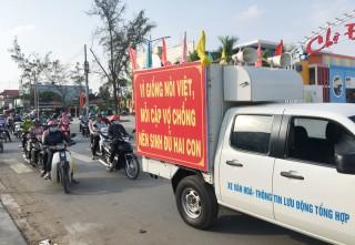 Ba Tri mít-tinh hưởng ứng Tháng hành động Quốc gia về dân số và Ngày Dân số Việt Nam 26-12