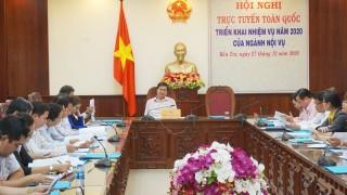 Bộ Nội vụ tổ chức hội nghị trực tuyến triển khai nhiệm vụ năm 2020