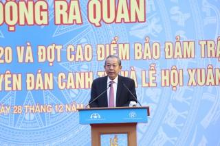 """Phó Thủ tướng Thường trực phát động thực hiện """"Năm An toàn giao thông 2020"""""""