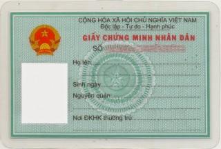 Xử phạt hành chính về sử dụng giấy chứng minh nhân dân