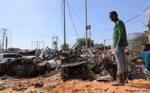 Đánh bom xe ở Somalia, ít nhất 76 người thiệt mạng