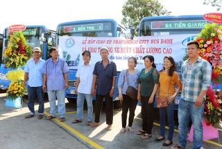Khai trương 2 tuyến xe buýt chất lượng cao