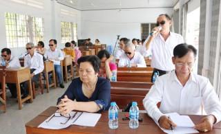 Hội Người mù tổng kết hoạt động năm 2019
