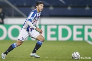 Đoàn Văn Hậu ra sân giúp Heerenveen chiến thắng ở Tây Ban Nha