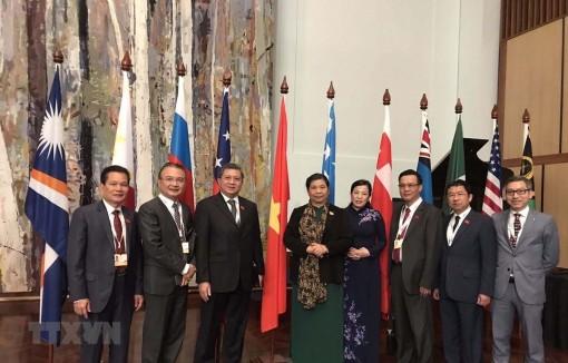 Việt Nam tham dự Hội nghị Diễn đàn Nghị viện châu Á - Thái Bình Dương lần thứ 29