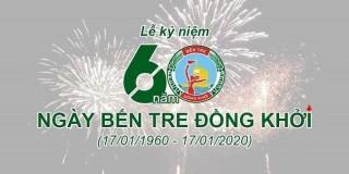 Địa điểm giữ xe miễn phí tham dự lễ kỷ niệm 60 năm Bến Tre Đồng Khởi