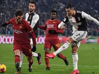 Juventus 3–1 AS Roma: Ronaldo khơi mào, định đoạt hiệp 1