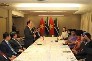 Nam Phi coi Việt Nam là một trong những đối tác hàng đầu tại Đông Nam Á